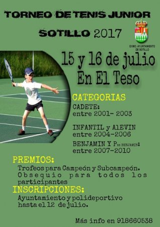Torneo de tenis junior 2017